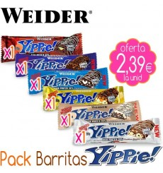 Pack Barritas proteicas YIPPIE!