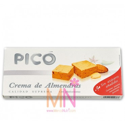 Turrón de Crema de Almendras sin azúcar 200g