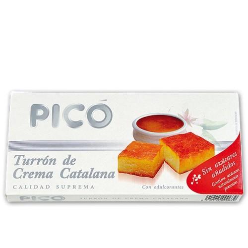 Turrón de Crema Catalana sin azúcar 200g