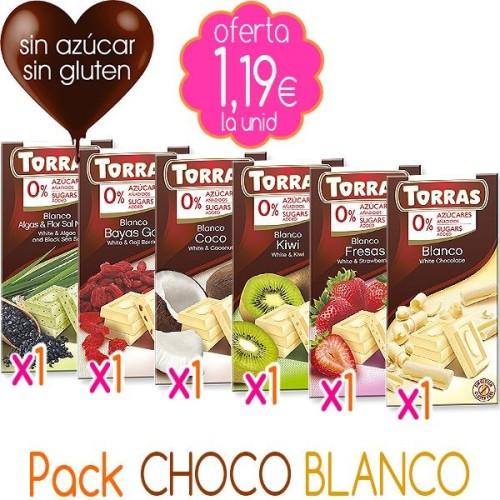 Pack CHOCO BLANCO