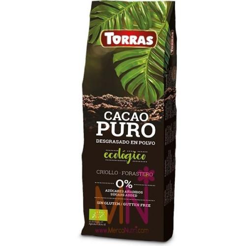 Cacao Puro desgrasado en Polvo Ecológico 150g