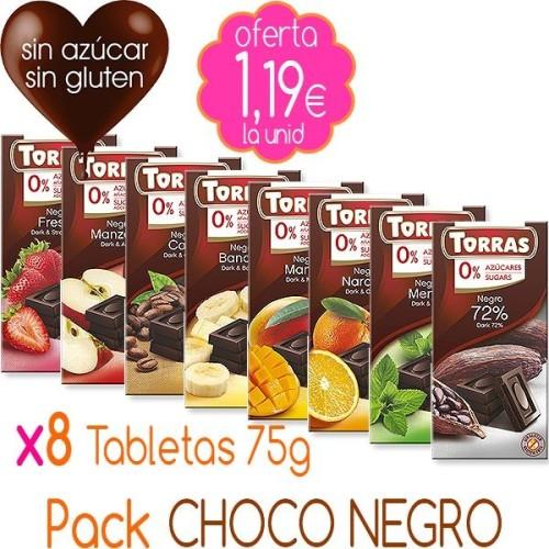 Pack CHOCO NEGRO