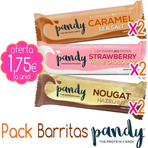 Pack Barritas Pandy