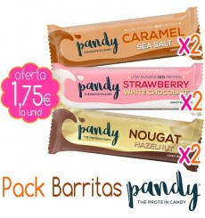 Pack Barritas Pandy