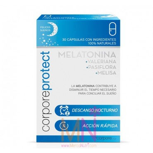 Melatonina 1mg 30caps. (Ayuda a conciliar el sueño)