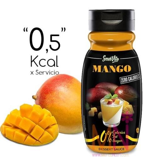 Sirope de Mango Zero Calorías 320ml