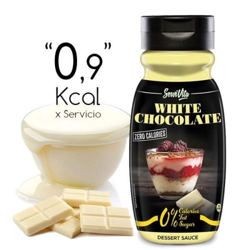 Sirope de Chocolate Blanco Zero Calorías 320ml
