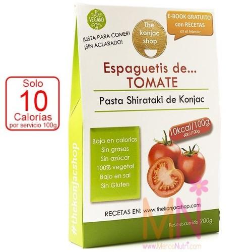 Espaguetis Konjac de Tomate 200g