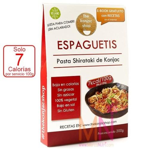 Espaguetis de konjac (Fideos de Konjac) 200g