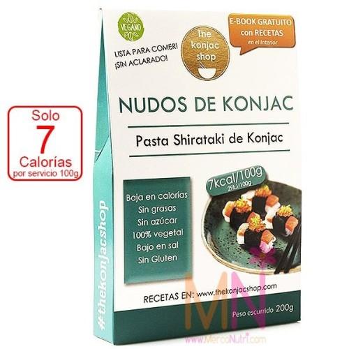 Nudos de konjac (knots) 200g