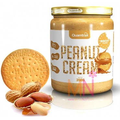 Crema de Cacahuete con sabor a Galleta 350 g