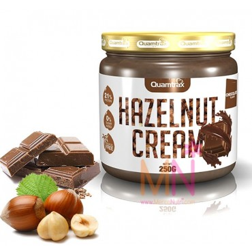 Crema de Avellanas sin azúcar sabor Chocolate 250g