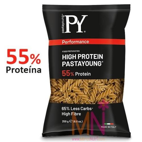Macarrones Proteicos Pasta Young 250g