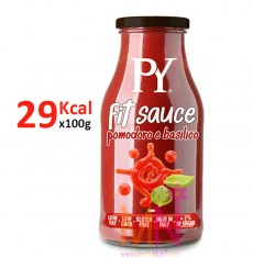 Salsa Fit Tomate con Albahaca 250g