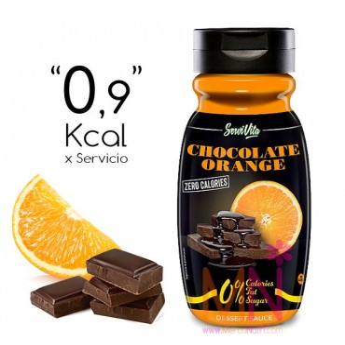 Sirope de Chocolate y Naranja Zero Calorías 320ml