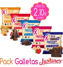 Pack Galletas Justine´s