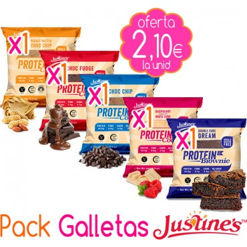 Pack Galletas Justine´s