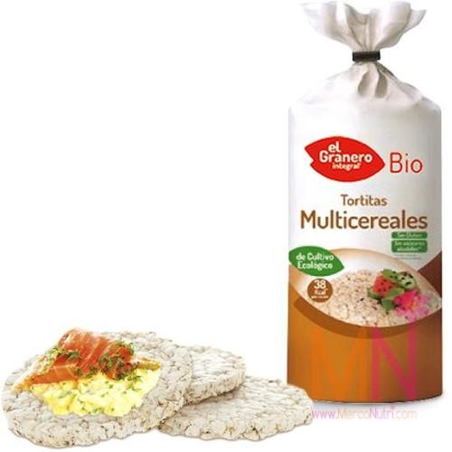 Tortitas Multicereales sin Gluten BIO 120g