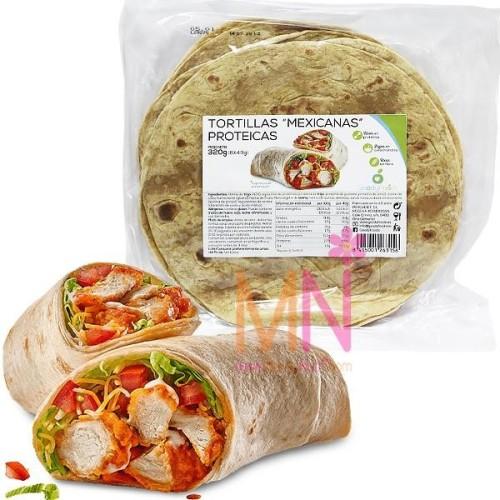 Tortillas Mexicanas Proteicas (8x40g)