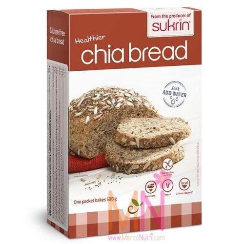 Preparado para hacer Pan de Chia sin Gluten 250g