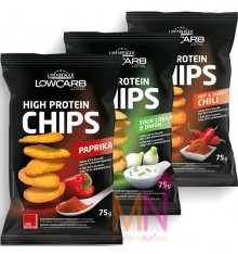 Patatas fritas saludables High Protein Chips 75g