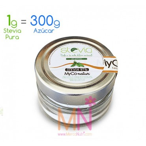 Stevia pura en Polvo 97% - 35g