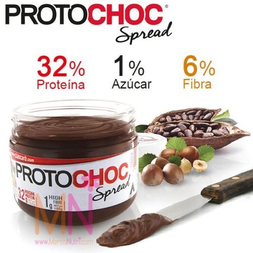 Crema proteica de Chocolate y Avellanas PROTOCHOC