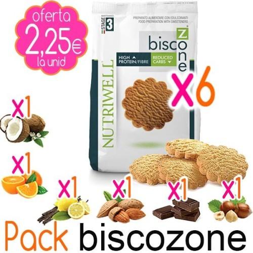 Pack Galletas BISCOZONE