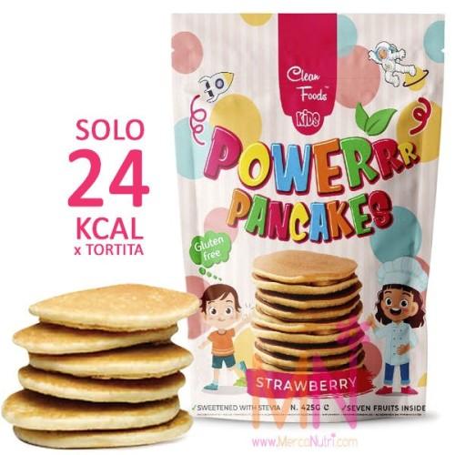 Power Pancakes para Niños sabor Fresa 425g