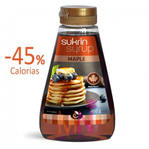 Sirope de Arce sin Azúcar 49% fibra 450g