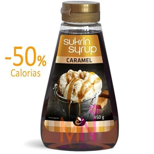 Sirope de Caramelo sin Azúcar 49% fibra 450g