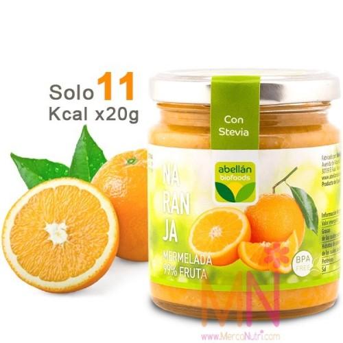 Mermelada de Naranja con Stevia sin azúcar 235g