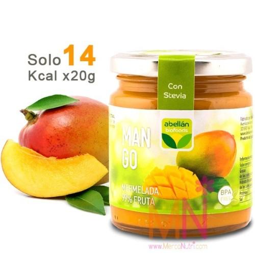 Mermelada de Mango con Stevia sin azúcar 235g
