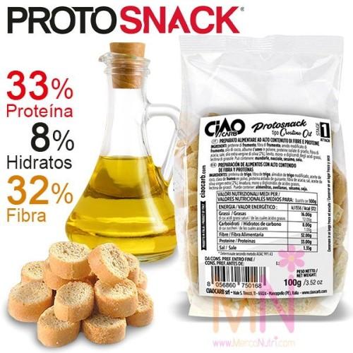 PROTOSNACK Aceite de Oliva (Picatostes proteicos) 100g