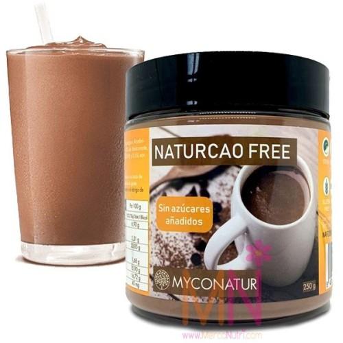 Cacao soluble sin azúcar NATURCAO FREE 250g