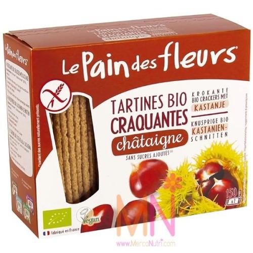 Bio Pan crujiente con Castaña sin Gluten 150g