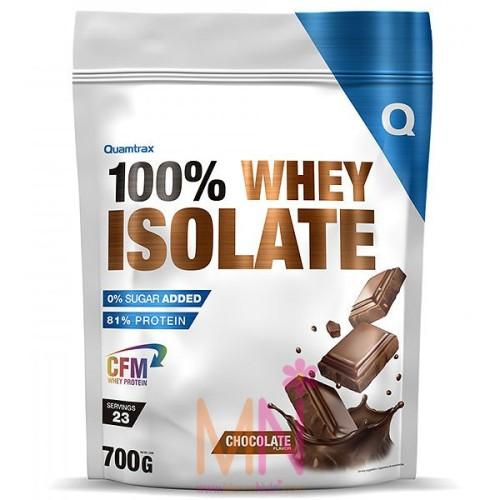 100% WHEY ISOLATE (Proteína aislada de suero) 700g