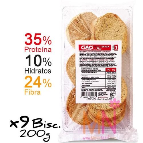 PROTOSNACK FRISA (Biscotes redondos proteicos) 200g