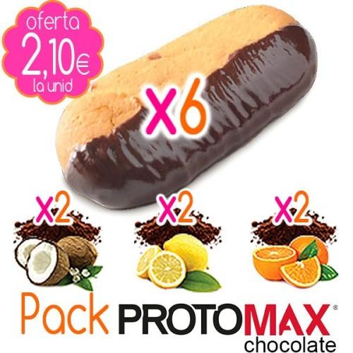 Pack Galletas PROTOMAX CHOCOLATE