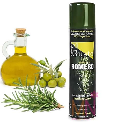 Espray de Aceite de Oliva sabor Romero 250ml