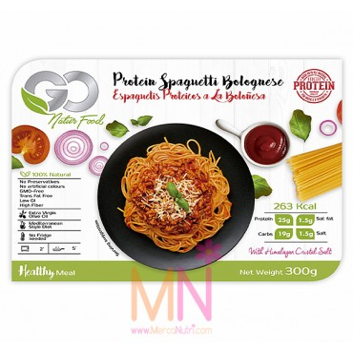 Espaguetis Proteicos a la Boloñesa 300g