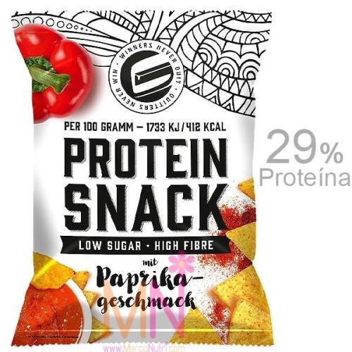 Nachos Proteicos PROTEIN SNACK sabor Paprika 50g