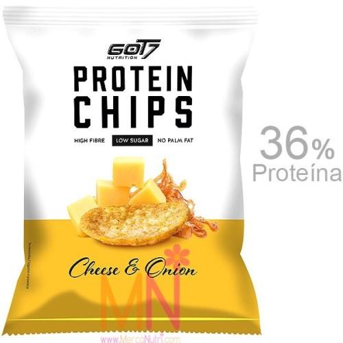 Chips Proteicas sabor Queso y Cebolla 50g