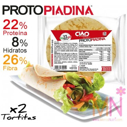 PROTOPIADINA (Tortitas de pan proteicas) 2x50g.
