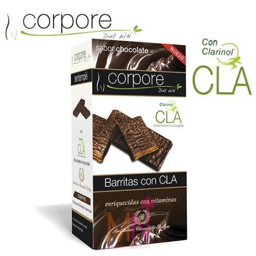 Barritas saciantes con C.L.A. Clarinol® Choco - 35g