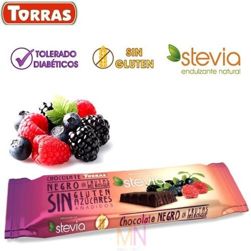 Chocolate Negro Stevia con Canela 125g