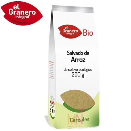 Salvado de arroz BIO 200g