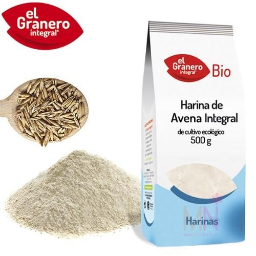 Harina de Avena integral BIO - 500g