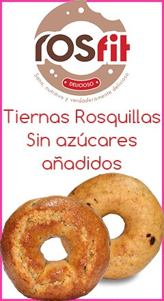 rosquillas sin azucar rosfit