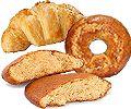Bizcochos, rosquillas y bollería tierna